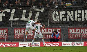 SOCCER - BL, Sturm vs Rapid / Bild: (c) GEPA pictures/ Hans Oberlaender