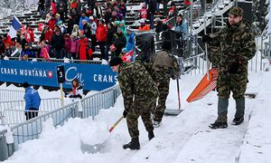 ALPINE SKIING - FIS WC Crans-Montana / Bild: (c) GEPA pictures/ Christian Walgram