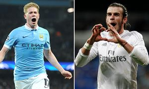 De Bruyne - Bale - ManCity - Real Madrid /