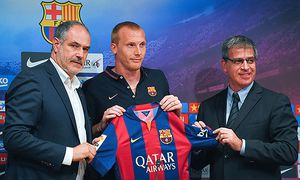 FC Barcelona Unveil New Signing Jeremy Mathieu / Bild: (c) Getty Images (David Ramos)