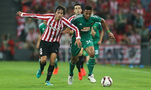 SOCCER - UEFA EL, Bilbao vs Rapid