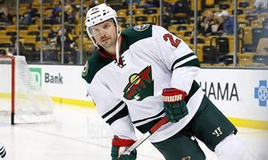 November 19 2015 Minnesota Wild left wing Thomas Vanek 26 3504 skates during warm up The Boston / Bild: (c) imago/Icon SMI (imago sportfotodienst)