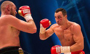 GER WM Schwergewicht Wladimir Klitschko UKR gegen Tyson Fury GBR 28 11 2015 Esprit Arena / Bild: (c) imago/nph (imago sportfotodienst)