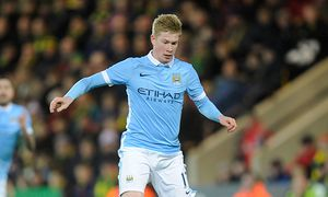 Kevin De Bruyne of Manchester City during The Emirates FA Cup Third Round match between Norwich City / Bild: (c) imago/BPI (imago sportfotodienst)