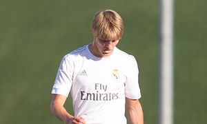 Real Madrid s Martin Odegaard during the semifinal of the playoff to second division of Spain Liga / Bild: (c) imago/Alterphotos (imago sportfotodienst)