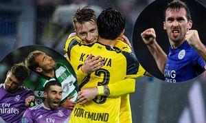 Marco Reus Borussia Dortmund 11 beim Torjubel nach dem Treffer zum 5 2 mit Shinji Kagawa Borussia / Bild: (c) imago/Eibner (imago sportfotodienst)