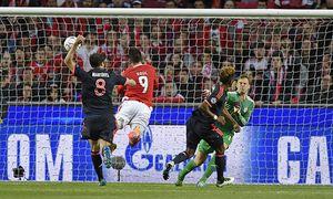 13 04 2016 Fussball Championsleague 2015 2016 Viertelfinale Rückspiel FC Benfica Lissabon Bayer / Bild: (c) imago/MIS (imago sportfotodienst)