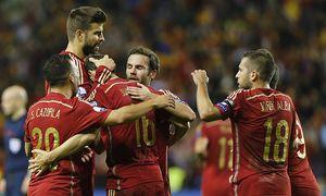 Aktuell Fußball EM Quali Spanien Luxemburg Partido de clasificación para la Euro 2016 de Francia / Bild: (c) imago/Marca (imago sportfotodienst)