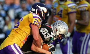 AMERICAN FOOTBALL - AFL, Vikings vs Raiders / Bild: (c) GEPA pictures/ Walter Luger