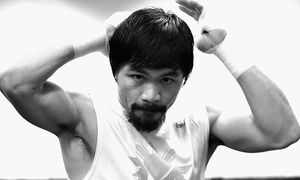 Manny Pacquiao Prepares for Floyd Mayweather Jr. / Bild: (c) Getty Images (Harry How)