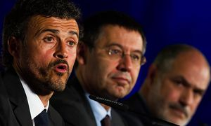 Luis Enrique Unveiled As New Barcelona Coach / Bild: (c) Getty Images (Alex Caparros)