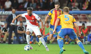 ANTHONY MARTIAL asm Antonio Barragan val Champions League Quali AS Monaco vs Valencia CF / Bild: (c) imago/PanoramiC (imago sportfotodienst)