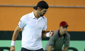 TENNIS - ITF, Davis Cup, LAT vs AUT / Bild: (c) GEPA pictures/ Mario Kneisl