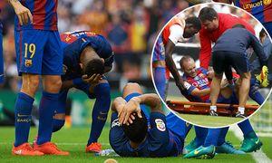 Bilder des Tages SPORT October 22 2016 Valencia Valencia Spain Luis Suarez and Neymar JR of / Bild: (c) imago/ZUMA Press (imago sportfotodienst)