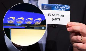 SOCCER - UEFA CL Play off draw / Bild: (c) GEPA pictures/ EQ Images