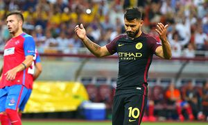 Sergio Aguero of Manchester City reacts after missing 2nd penalty shoot during the 2016 17 UEFA Cham / Bild: (c) imago/BPI (imago sportfotodienst)