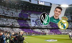 Fußball Bundesliga UEFA Champions League Real Madrid VfL Wolfsburg Real Madrid Choreografie C / Bild: (c) imago/foto2press (imago sportfotodienst)