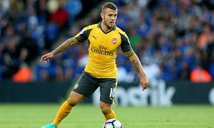 Jack Wilshere of Arsenal during the Premier League match between Leicester City and Arsenal played a / Bild: (c) imago/BPI (imago sportfotodienst)