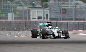 Lewis Hamilton Mercedes Grand Prix formula 1 GP Russian in Sochi 10 10 2015 Photo mspb Vladislav / Bild: (c) imago/Thomas Melzer (imago sportfotodienst)
