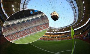 A general view of National Arena stadium before the 2016 17 UEFA Champions League First playoff roun / Bild: (c) imago/BPI (imago sportfotodienst)