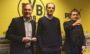 Borussia Dortmund - Press Conference / Bild: (c) Bongarts/Getty Images (Juergen Schwarz)