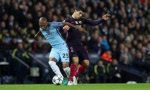 Football 2016 2017 UEFA Champions League Group C Manchester City vs Barcelona Fernandinho of / Bild: (c) imago/Colorsport (imago sportfotodienst)