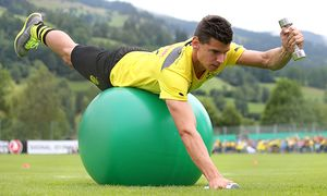 FUSSBALL - Dortmund, Training / Bild: (c) GEPA pictures/ Andreas Pranter