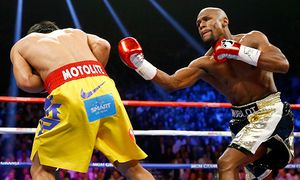 Floyd Mayweather Jr. v Manny Pacquiao / Bild: (c) Getty Images (Al Bello)