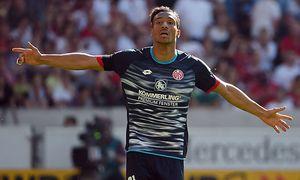 07 05 2016 xjhx Fussball 1 Bundesliga VfB Stuttgart FSV Mainz 05 emspor v l Karim Onisiwo FS / Bild: (c) imago/Jan Huebner (imago sportfotodienst)