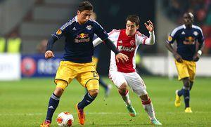 FUSSBALL - EL, Ajax vs RBS / Bild: (c) GEPA pictures/ Felix Roittner