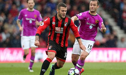 Jack Wilshere of Bournemouth during the Premier League match between AFC Bournemouth and Hull City p / Bild: (c) imago/BPI (imago sportfotodienst)