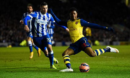 Brighton & Hove Albion v Arsenal - FA Cup Fourth Round / Bild: (c) Getty Images (Mike Hewitt)
