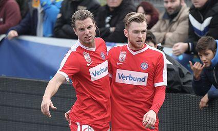 SOCCER - OEFB Cup, Ebreichsdorf vs A.Wien / Bild: (c) GEPA pictures/ Christian Ort