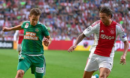 SOCCER - CL quali, Ajax vs Rapid