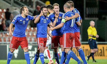 SOCCER - UEFA EURO 2016 quali, LIE vs MNE / Bild: (c) GEPA pictures/ Oliver Lerch