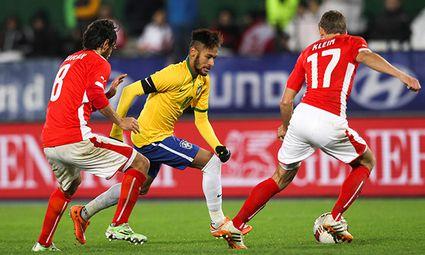 SOCCER - AUT vs BRA, friendly match / Bild: (c) GEPA pictures/ Philipp Brem