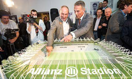 SOCCER - Rapid, Allianz Stadion / Bild: (c) GEPA pictures/ M. Hoermandinger