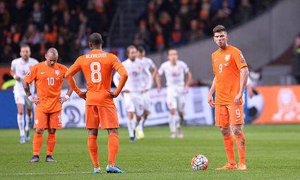Fußball EM Qualifikation Niederlande Tschechien am 11 10 2015 in der Amsterdam ArenA in Amsterdam / Bild: (c) imago/Revierfoto (imago sportfotodienst)