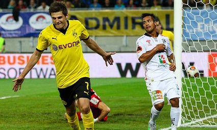 SOCCER - EL quali, WAC vs Dortmund