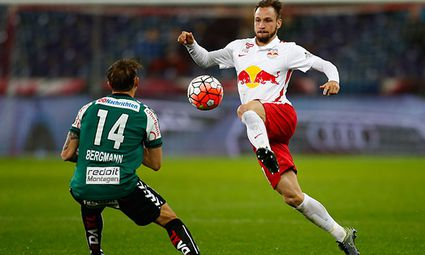 SOCCER - BL, RBS vs Ried / Bild: (c) GEPA pictures/ Felix Roittner