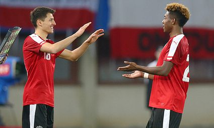 SOCCER - AUT vs ALB, test match / Bild: (c) GEPA pictures/ Christian Ort
