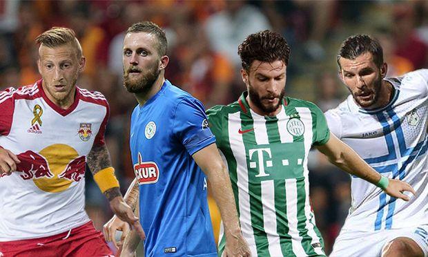 Caykur Rizespor s Jakob Jantscher during Turkish League soccer match between Galatasaray and Caykur / Bild: (c) imago/Depo Photos (imago sportfotodienst)