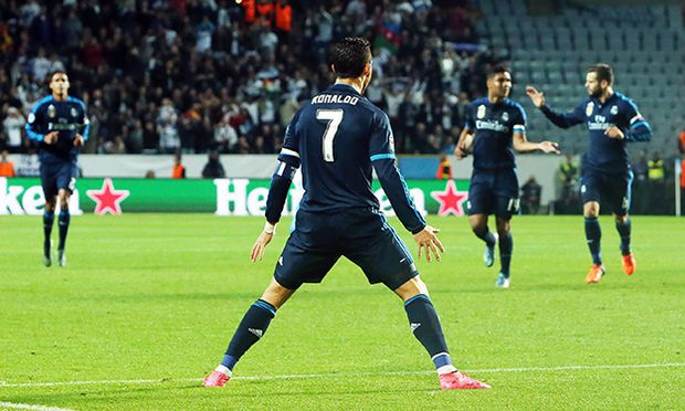 2015 09 30 Swedbank Stadion Malmö In the picture Ronaldo scoores 1 0 to Real Madrid Pictures fro / Bild: (c) imago/All Over Press Sweden (imago sportfotodienst)