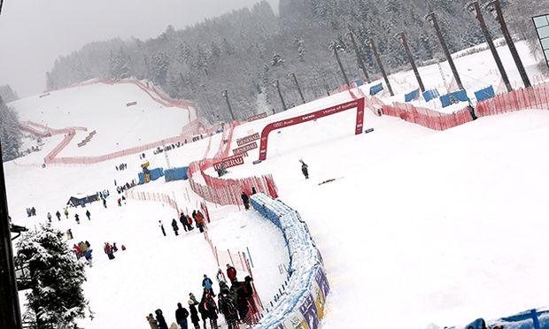 SKI ALPIN - FIS WC Bormio, Abfahrt, Herren / Bild: (c) GEPA pictures/ Daniel Goetzhaber