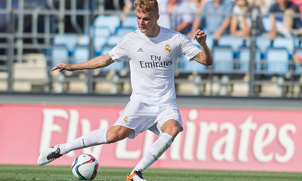 Real Madrid s Philipp Lienhart during the semifinal of the playoff to second division of Spain Liga / Bild: (c) imago/Alterphotos (imago sportfotodienst)