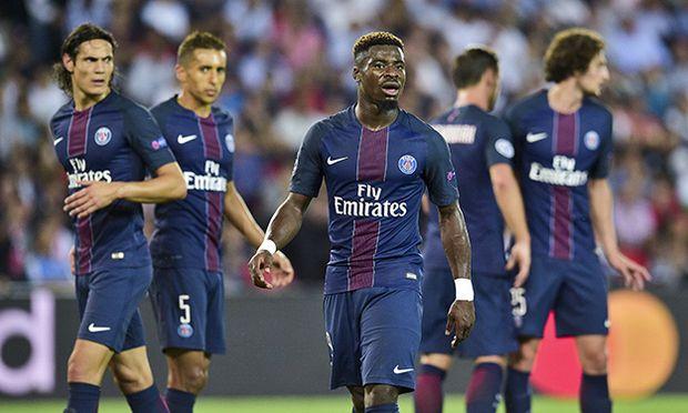 AURIER Serge PSG Fussball Champions League Paris Saint Germain PSG vs Arsenal FC 13 09 2016 / Bild: (c) imago/PanoramiC (imago sportfotodienst)
