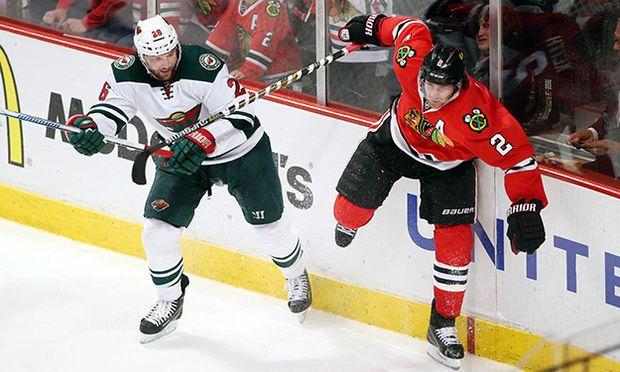 ICE HOCKEY - NHL, Wild vs Backhawks / Bild: (c) GEPA pictures/ USA Today