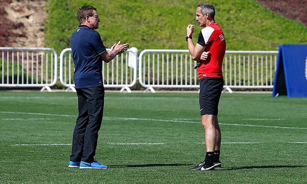 SOCCER - BL, RBS, training camp / Bild: (c) GEPA pictures/ Felix Roittner