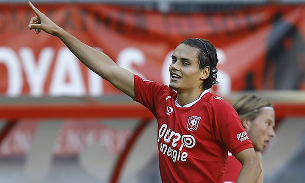 Enes Unal of FC Twente scored 1 0 during the Dutch Eredivisie match between FC Twente and Vitesse Ar / Bild: (c) imago/VI Images (imago sportfotodienst)
