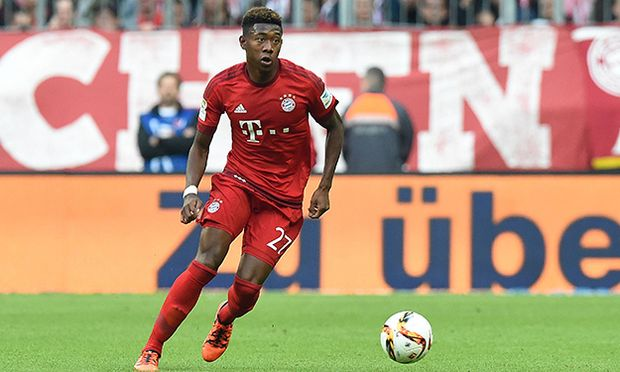 Fußball 1 Bundesliga 8 Spieltag Bayern München Borussia Dortmund am 04 10 2015 in der Allianz Ar / Bild: (c) imago/Revierfoto (imago sportfotodienst)